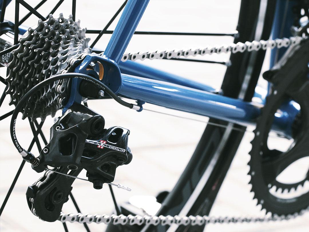 Componenti cambio deragliatore bici Bixxis