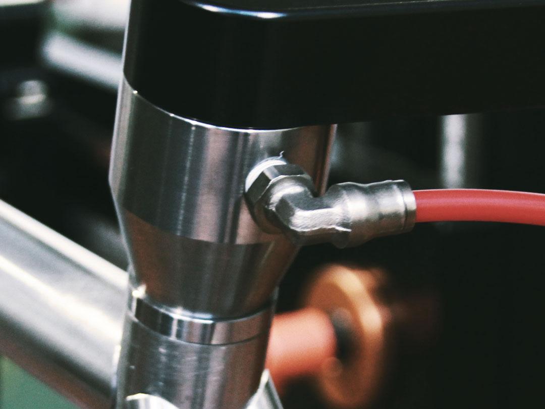 Tubo bicicletta Bixxis riempito di gas inerte per saldatura TIG