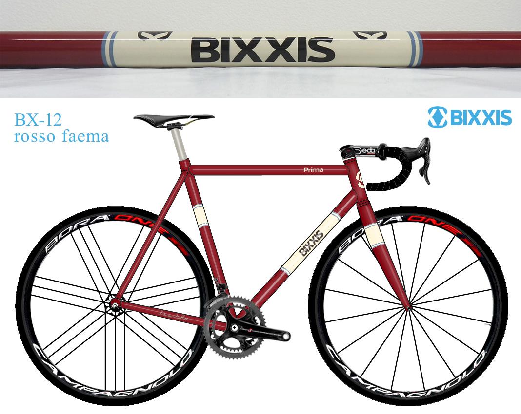 telaio BX12 rosso faema